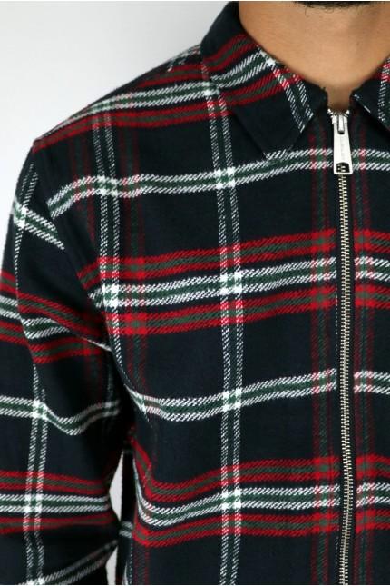Bryan Check Shirt Black Rocket Carhartt Wip