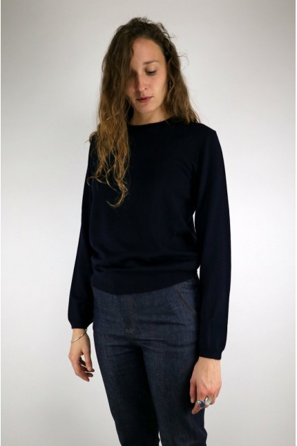 Pull Savannah Dark Navy A.P.C.