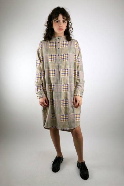 Robe Griffon Check Flannel Multi YMC