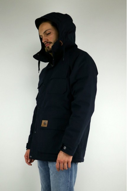 Mentley Jacket Dark Navy Carhartt