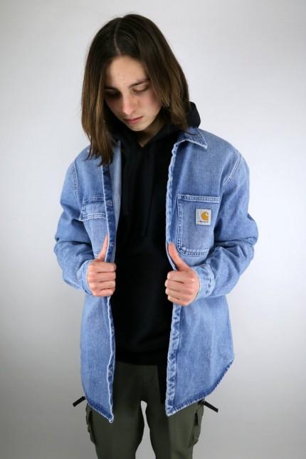 Salinac Shirt Blue Worn Bleached Carhartt