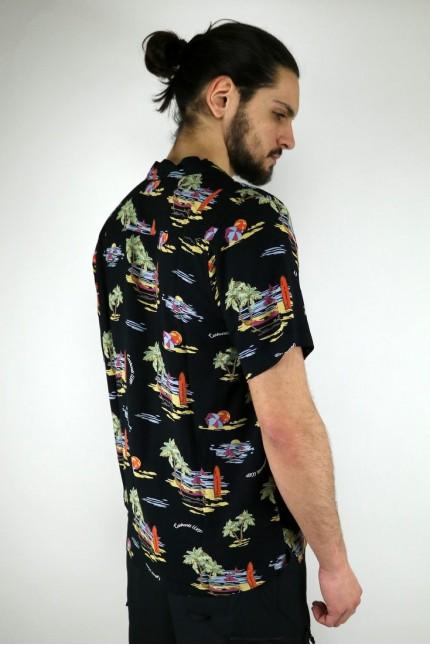 S/S Beach Shirt Black Carhartt Wip