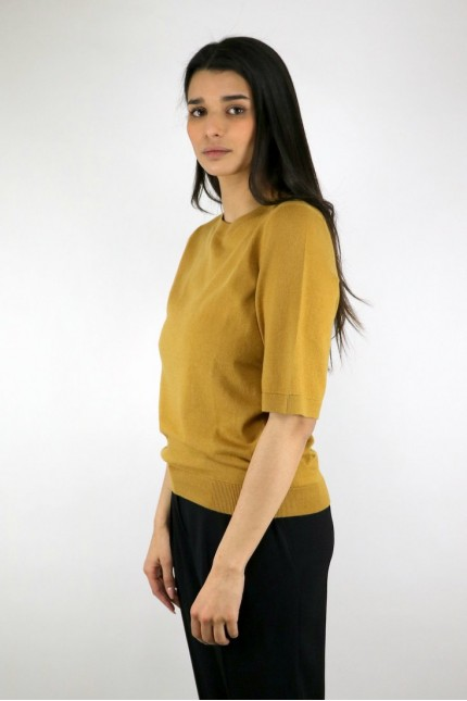 Pull Cleo Moutarde A.P.C.