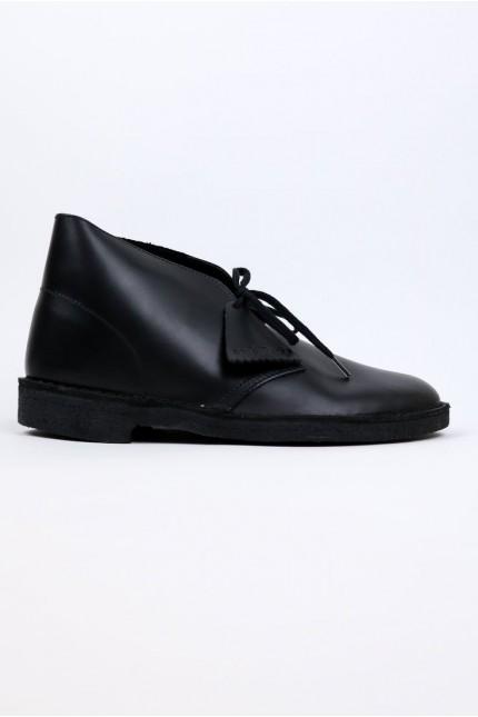 Desert Boot Brillant Noir Clarks Originals