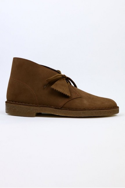 Desert Boot Daim Cola Clarks Originals