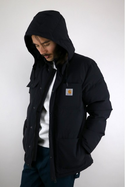 Veste Alpine Coat Black / Hamilton Brown Carhartt