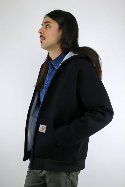 Car-Lux Hooded Jacket Dark Black / Grey Carhartt