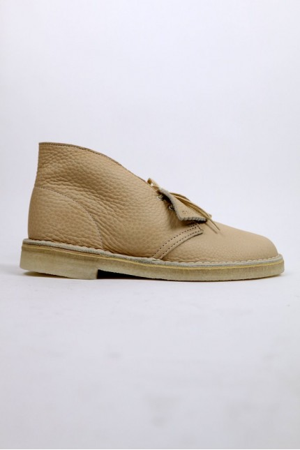 Desert Boot Leather Off White Clarks Original